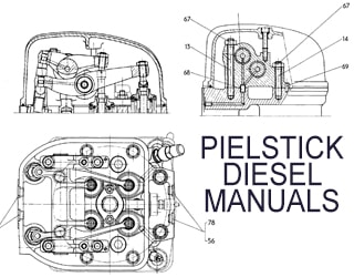 PIELSTICK diesel engine spare parts