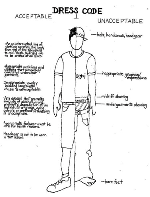 School Protocols / Dress Code