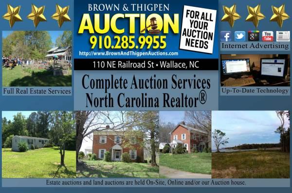 Brown & Thigpen Auctions-serving Wilmington Jacksonville