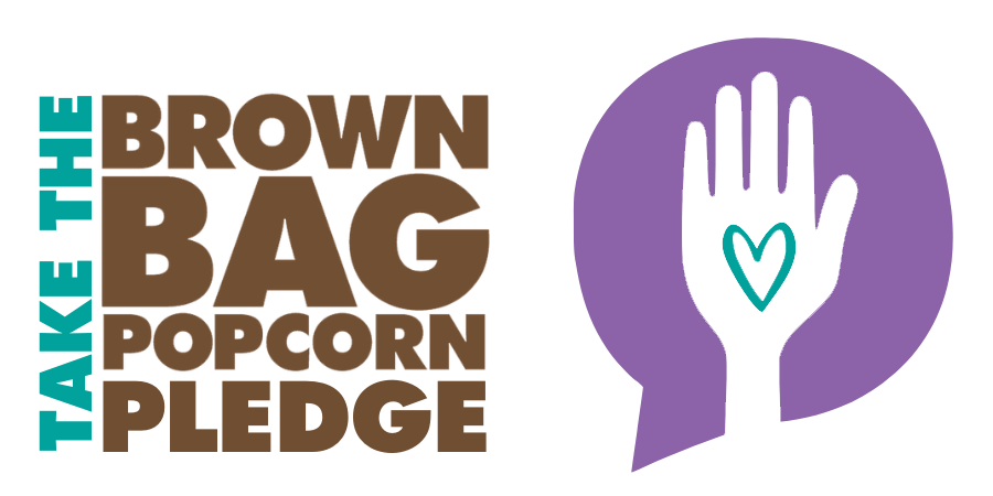 Take The Brown Bag Popcorn Pledge