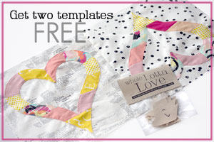 Get two templates free by signing up for E-letters