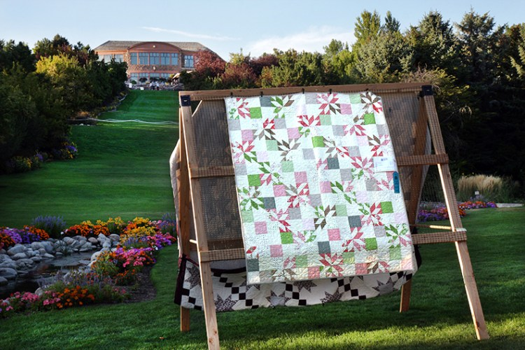 The Garden of Quilts at Ashton Gardens