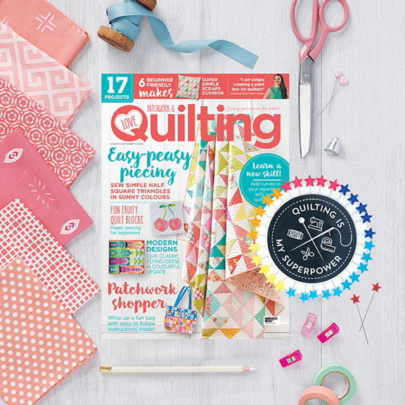 Issue 88 of Love Patchwork and Quilting