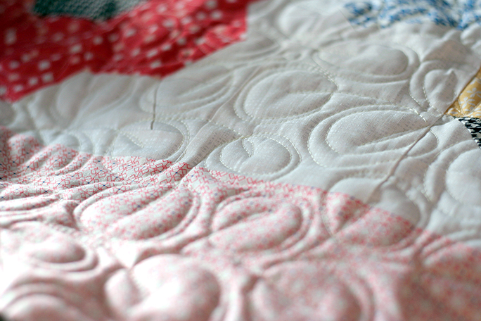 Quilting inspired by Christina Cameli - Step-by-Step Free-Motion Quilting