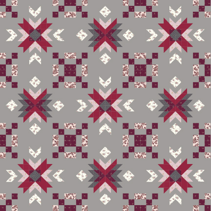 Garden Star two and four pattern bundle