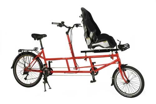 KIDZTANDEM com cadeira para criança portadora de necessidade especialKIDZTANDEM com cadeira para criança portadora de necessidade especial