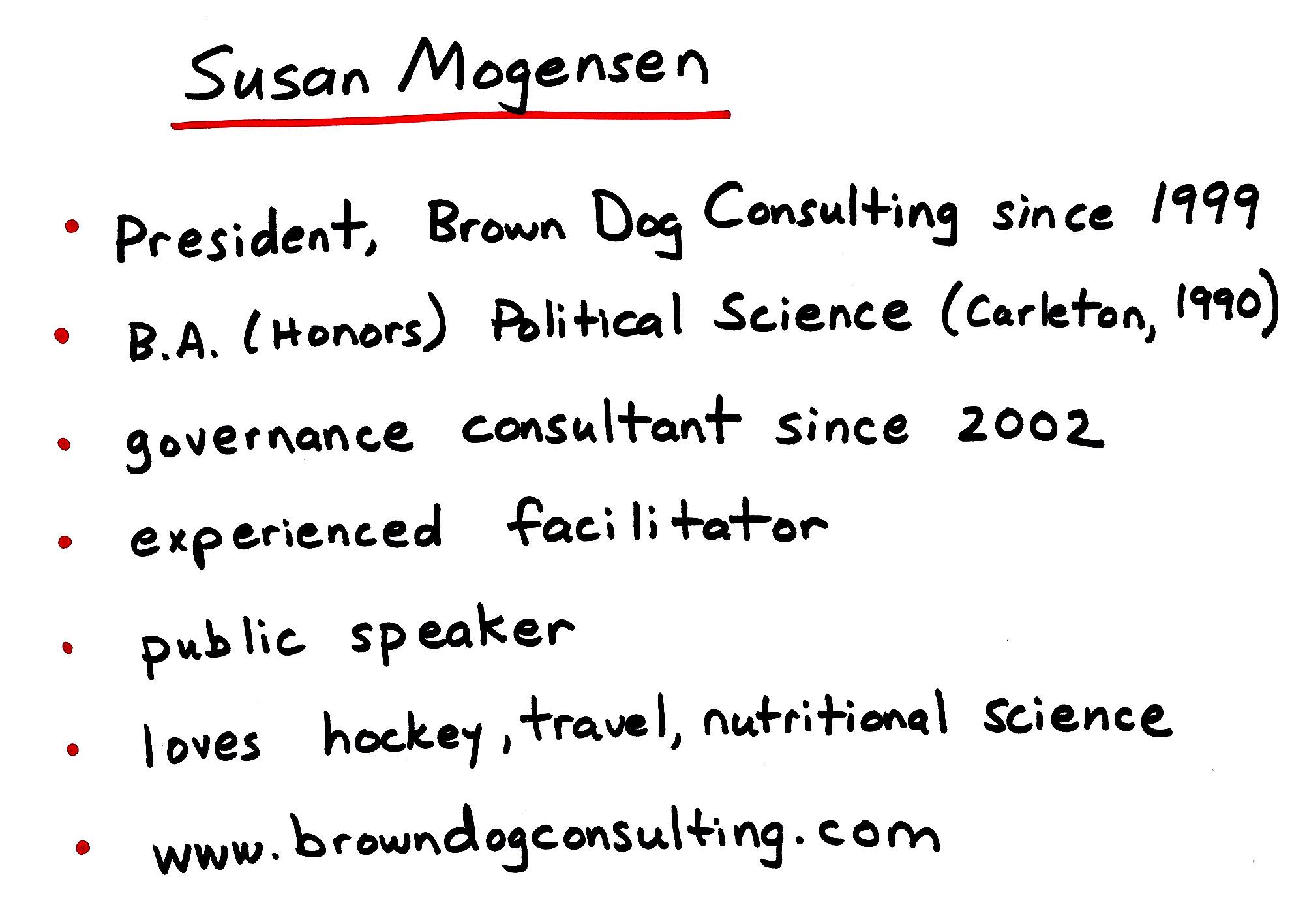 Susan Mogensen President