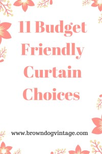 curtains budget house updates