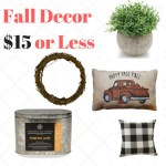 10 fall finds under $15 top ten tuesday