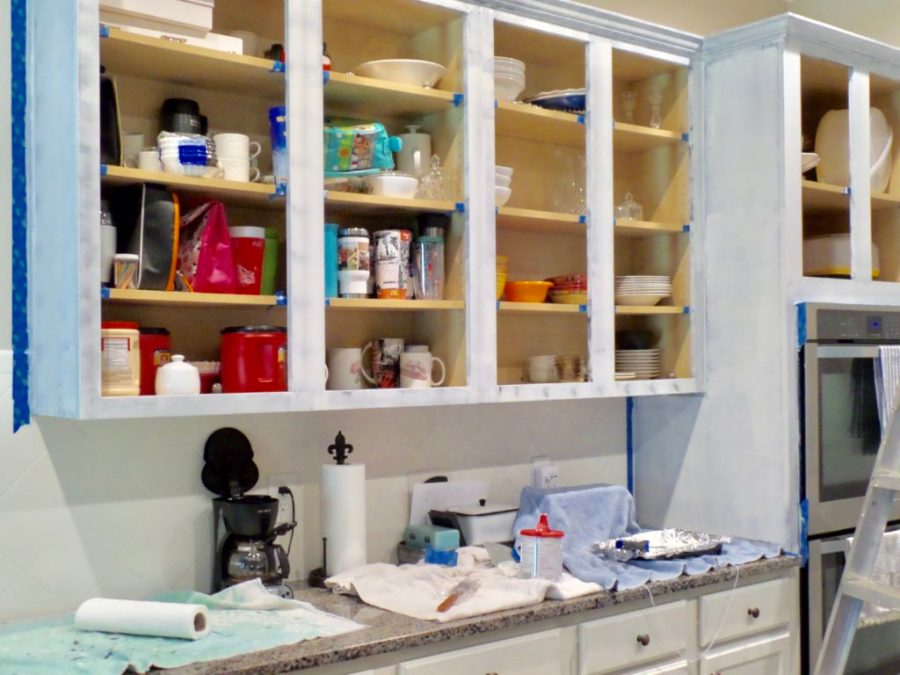 diy kitchen cabinet thrifty makeover