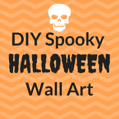 Spooky DIY Halloween Wall Art