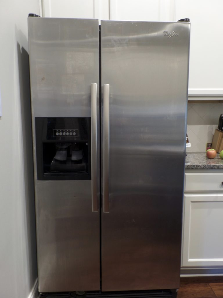 the easiest way to clean stainless steel appliances