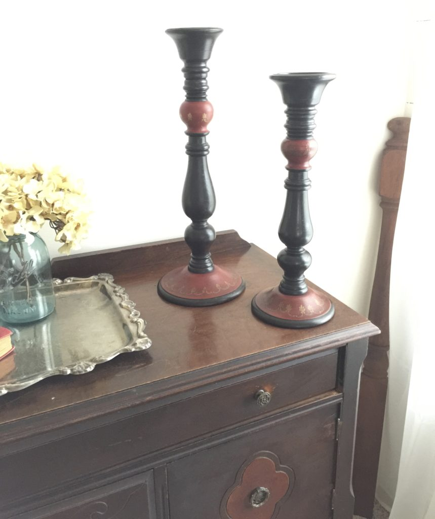 farmhouse style candlesticks