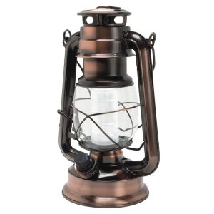 Copper lantern mixed metals gift guide