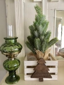 DIY farmhouse style christmas decor
