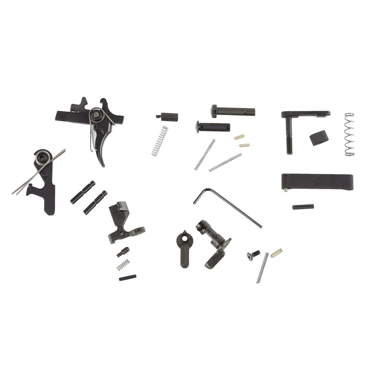Lewis Machine Amp Tool Ar 15 Lower Parts Kit Two Stage