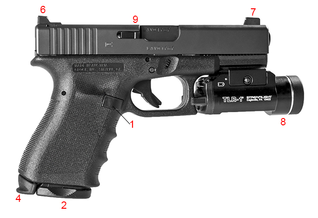 Glock Schematic Diagram Moreover Glock 17 Parts Diagram