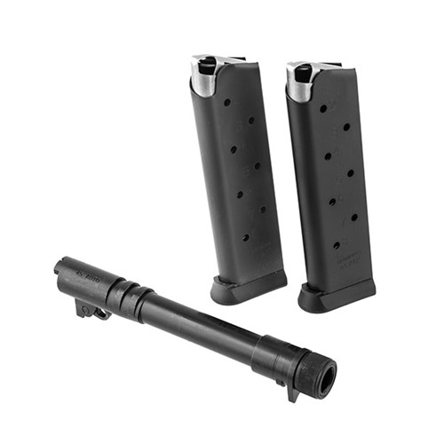 Brownells 1911 Threaded Barrel with Two 8-Round Magazines
