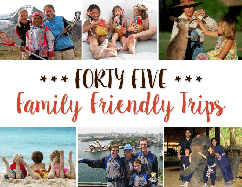 Family Friendly Trips Brownell Travel