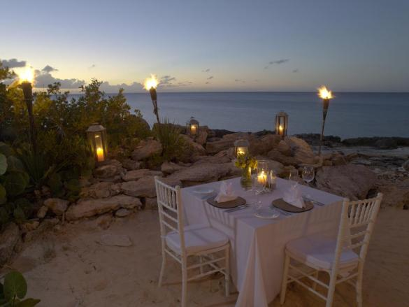 Amanyara Private Dinner on the Beach