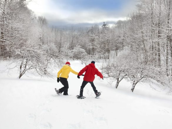 Twin-Farms-Snow-Shoeing