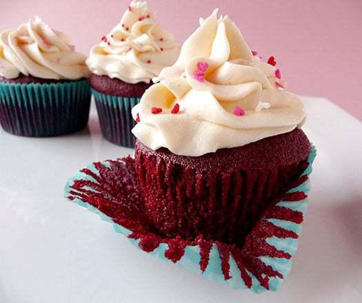 Red Velvet Cupcakes   browneyedbaker.com