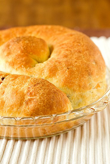 Bacon And Cheese Easter Bread Brown Eyed Baker