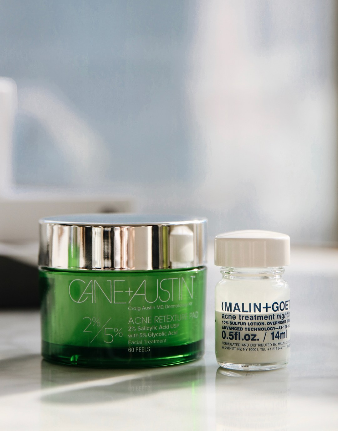 Brown Eyed Toast x Latest Loves Nov 17 - Cane and Austen Acne Retexture Pads and Malin and Goetz Acne Treatment Night.jpeg