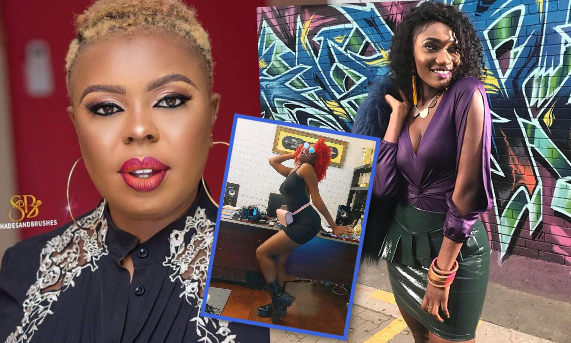 Wendy Shay is a failure and drug addict-Afia Schwarzenegger replies Wendy Shay for embarrassing her on stage(Video)