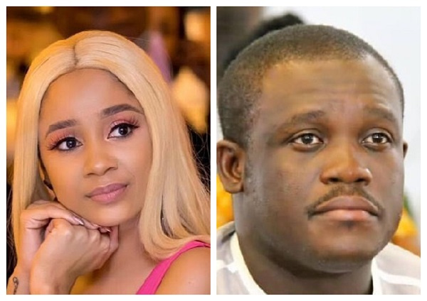 Say hi to Medikal for me-Sam George mock Sister Derby as they dirty themselves on Twitter