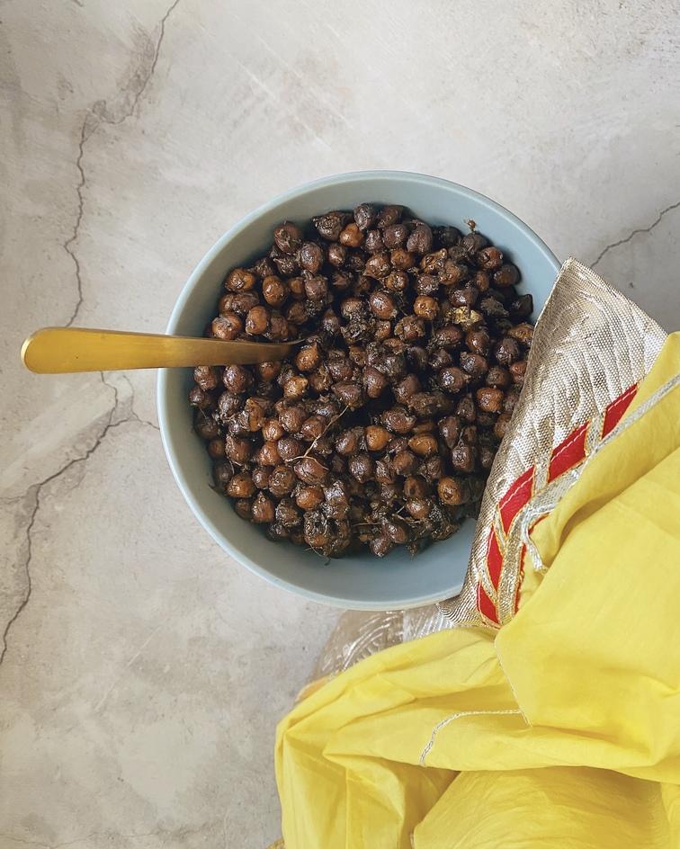 Fasting Foods: Sukhe Kale Chana