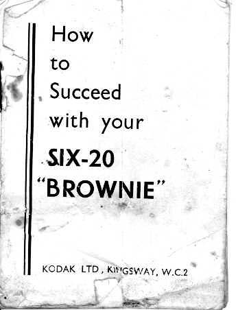 Six-20 Brownie (UK Model) Manual