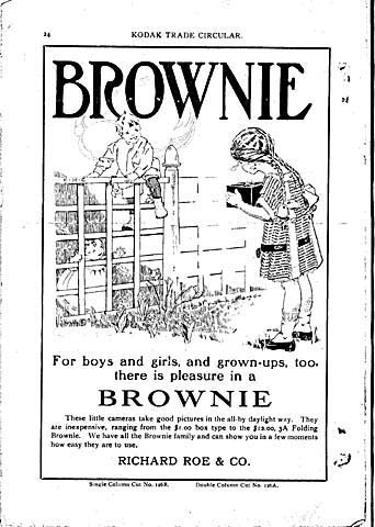 Brownie Camera Ads and Posters