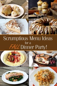 Fall Dinner Party Ideas | Brownie Bites Blog