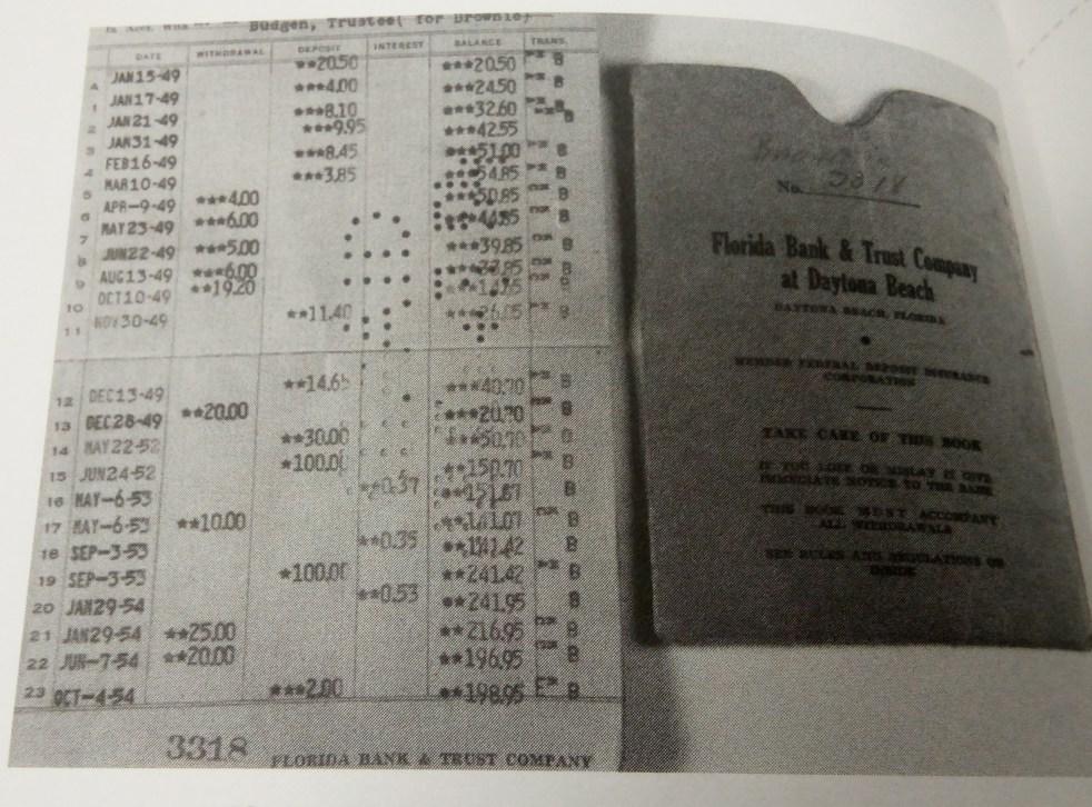 Brownie's Bank Book
