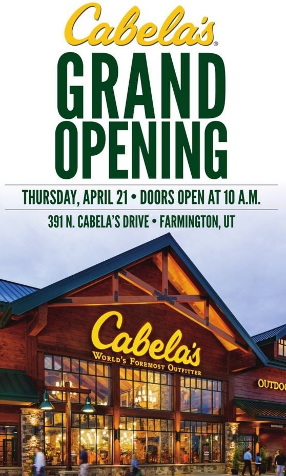 New Cabela39s Store Opens Near Browning
