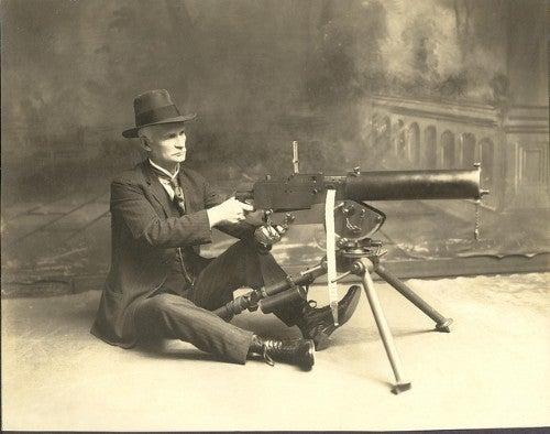 Browning Wwi Machine Gun