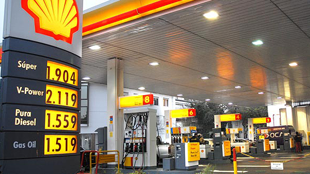 nafta aumento