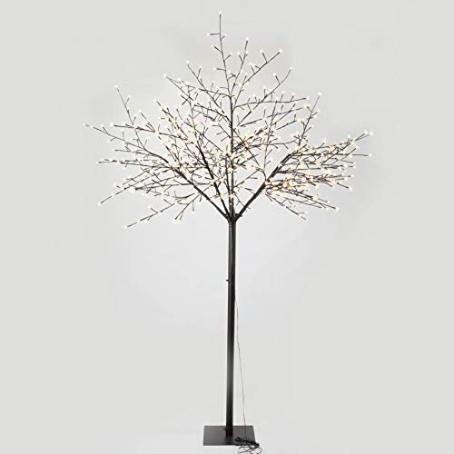 GOJOOASIS 8 Feet Cherry Blossom Lighted Tree 600 LED