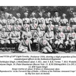 16th Light Cavalry. A historic picture and an anecdote from Kashmir