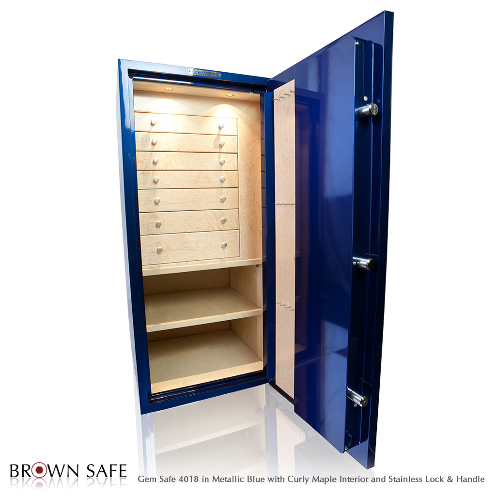 Brown Safe 4018