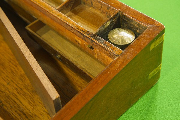 Mahogany Antique Writing Slope  Browns Antiques