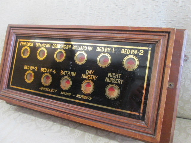 Victorian Servants Bell Board M 067 WB SOLD