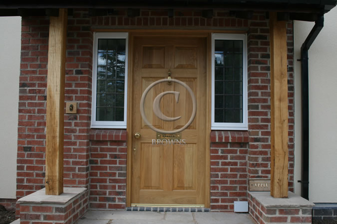Browns Range Of Quality External Oak Doors