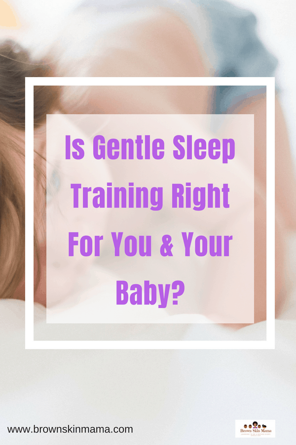 Gentle Sleep Training For You and Your Baby | No Cry it Out Method #cryitoutmethod #gentlesleeptraining #ferbermethod #nocryitout #gentlesleeptrainingtips