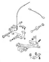 Suzuki Remote Control Parts Kit 67130-91J02