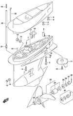 Suzuki Outboard Parts Df 225 Parts Listings Browns Point