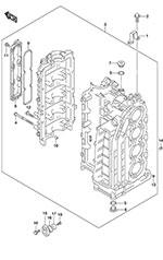 Suzuki Outboard Cooling Diagram, Suzuki, Free Engine Image