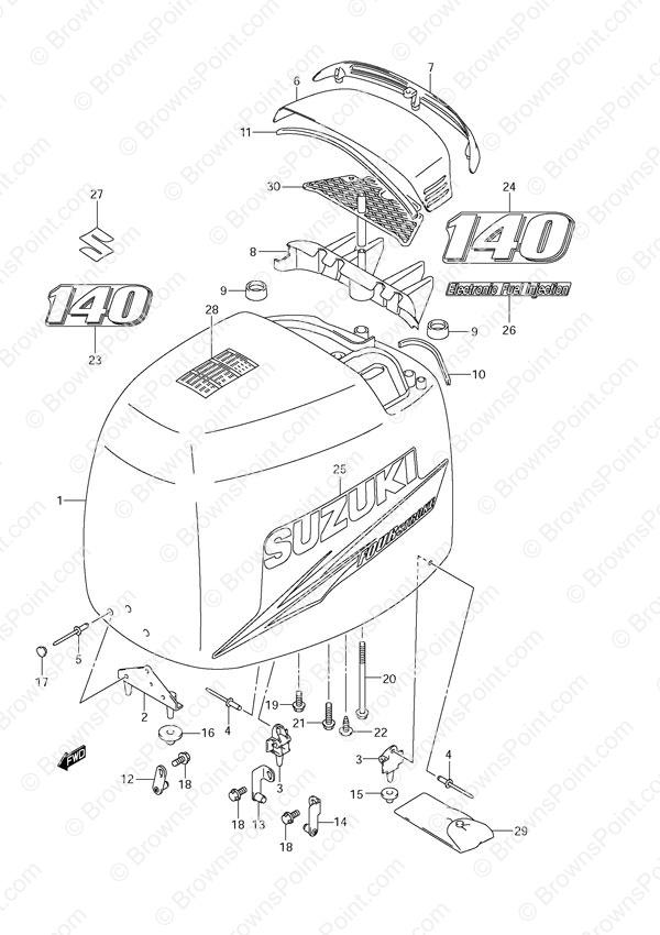 suzuki 140 hp outboard wiring diagram