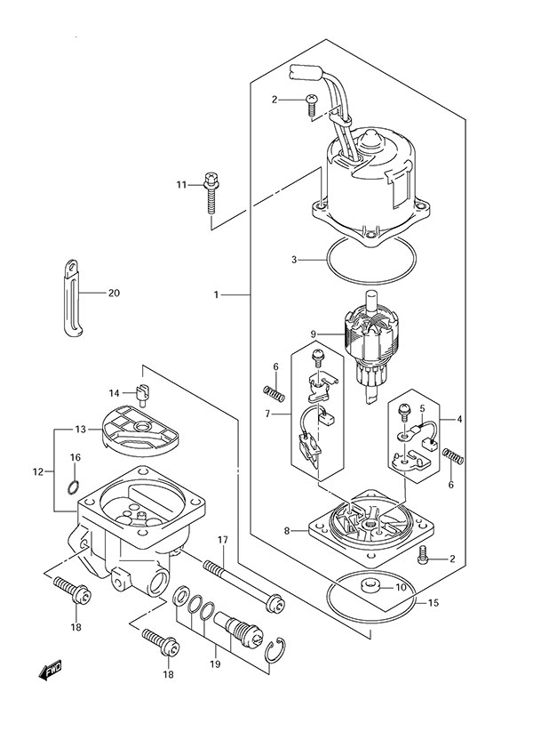 Yamaha 85 Outboard Wiring Diagram